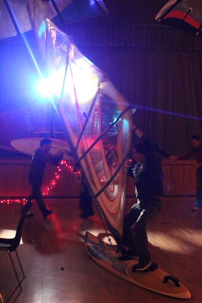 Planche à la soirée funboard44